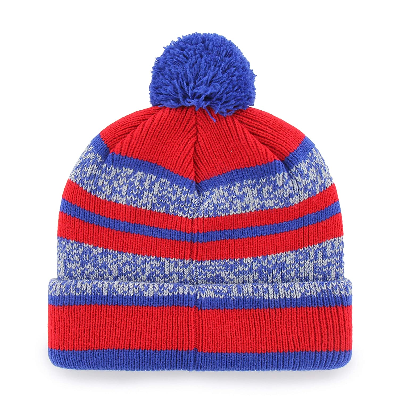 NHL Mens  OTS Huset Cuff Knit Cap with Pom