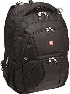 Swiss Gear SA1908 Black TSA Friendly ScanSmart Laptop Backpack - Fits Most 17 Inch Laptops and