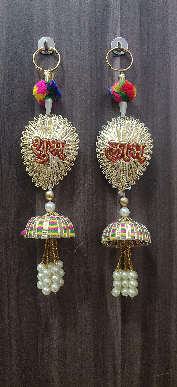 CrazyBachat Home Decoration Item for Home Door Wall Temple - Handcrafted Hanging Decorative Accessories