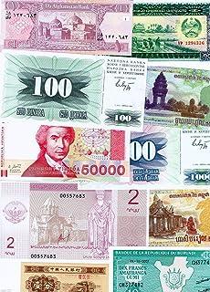 Amazon com: KYRGYZSTAN 1 Tyin Banknote World Paper Money UNC