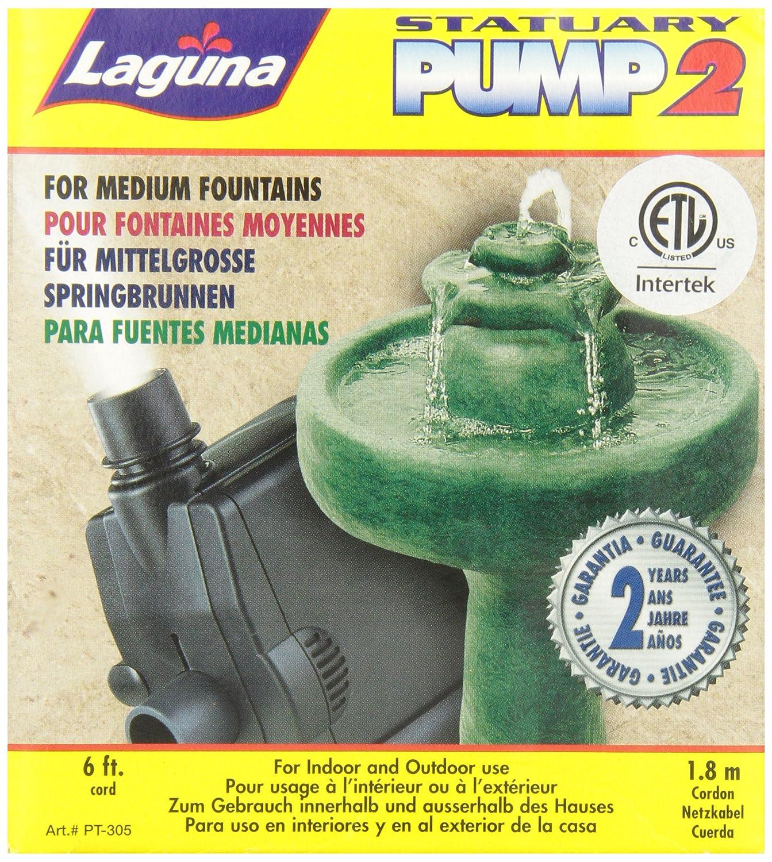Amazon.com : Danner 02619 190 GPH Statuary Pond Pump Clamshell Pack ...
