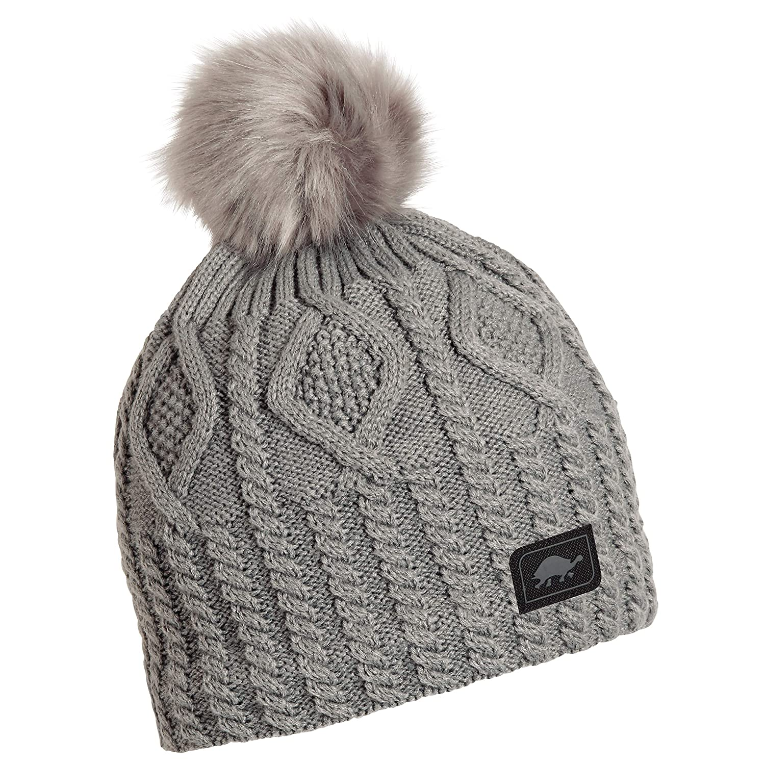 20429d6b8d5 Amazon.com   Turtle Fur Snow Globe Women s Fleece Lined Relaxed Fit Pom  Winter Hat Blue   Sports   Outdoors