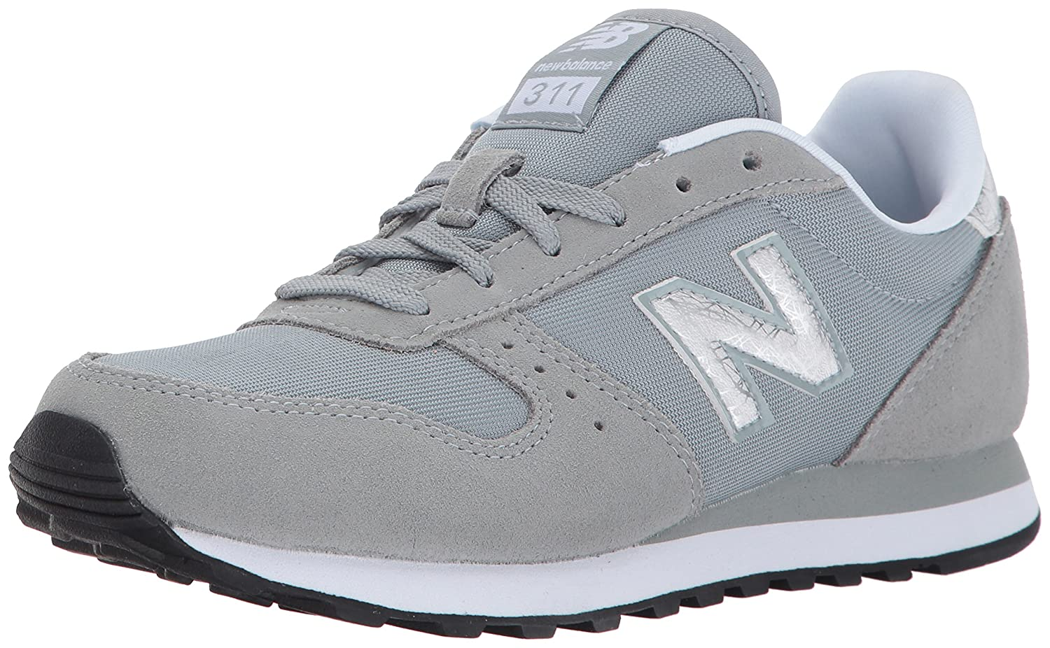New Balance Women's 311v1 Sneaker B01N43LROS 10 B(M) US|Apollo Grey/Silver