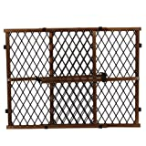 Amazon Price History for:Evenflo Position and Lock Farmhouse Pressure Mount Gate, Dark Wood