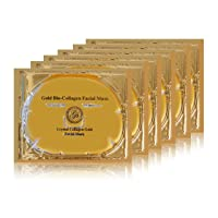 Grace & Stella Anti-Wrinkle + Energizing Gold Collagen Hydragel Face Masks (6 pcs...