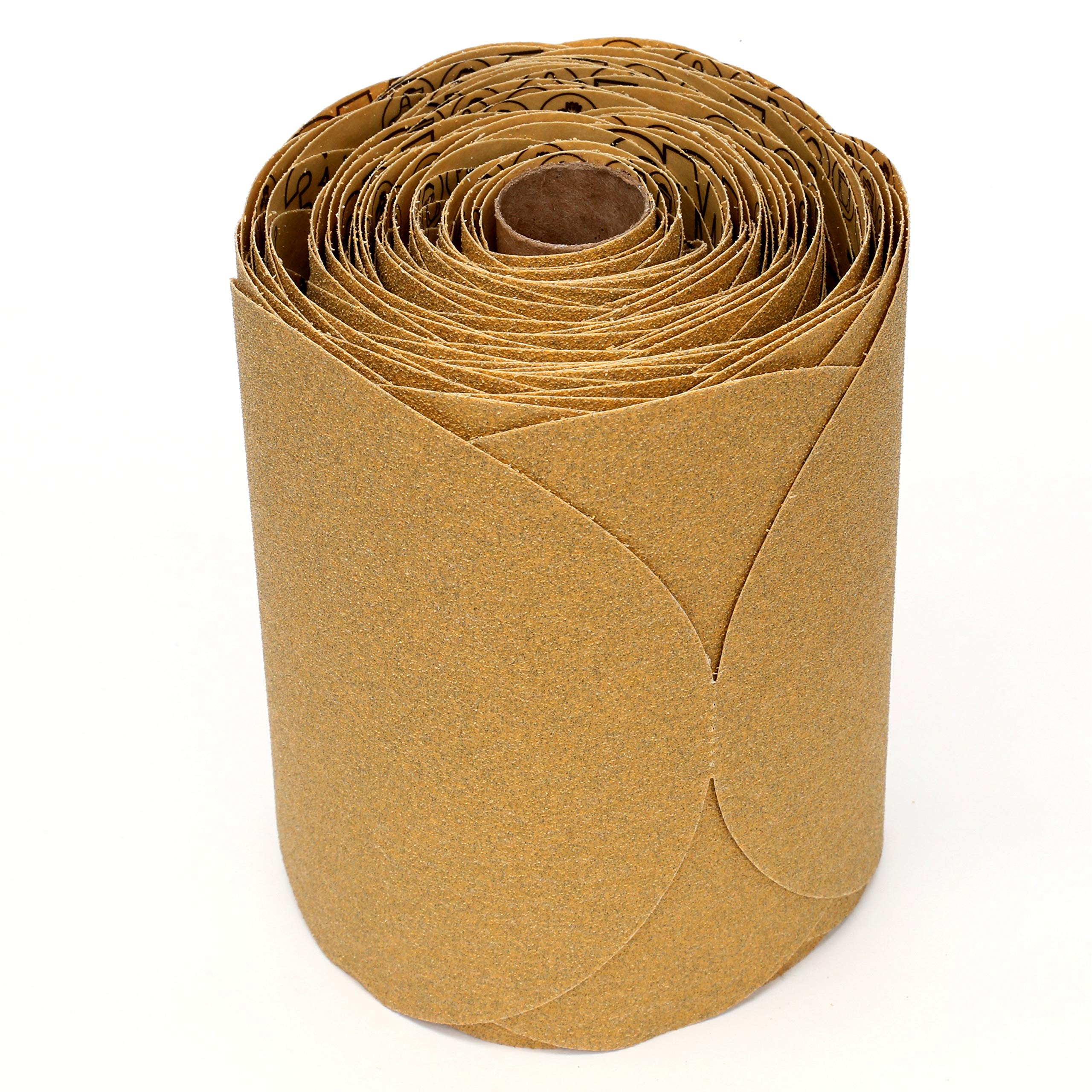 3M 01443 Stikit Gold 6'' P80A Grit Disc Roll by 3M (Image #1)
