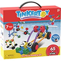 Tinkertoy - On The Go Building Set - Ages 3+