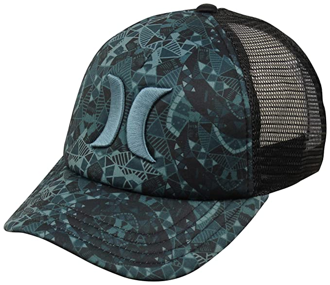 212778bfbe0 Hurley One and Only Women s Trucker Hat - Seaweed   Desert Geo ...