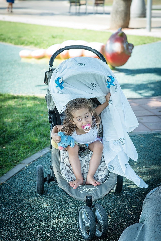Amazon.com: carriola de bebé manta pinzas clips viaje ...