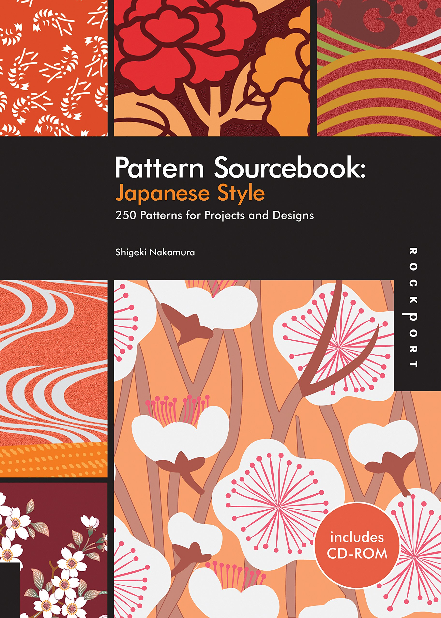 Pattern Sourcebook: Japanese Style: 250 Patterns for Projects and
