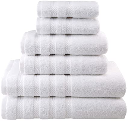 Premium Luxury Hotel Spa Quality 6 Piece Kitchen And Bathroom Turkish Towel Set