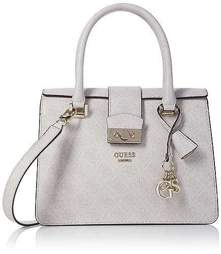 3e1eac6e55 Guess HWSG6491050, sac à main femme - Gris - Gris (Cement CEM ...