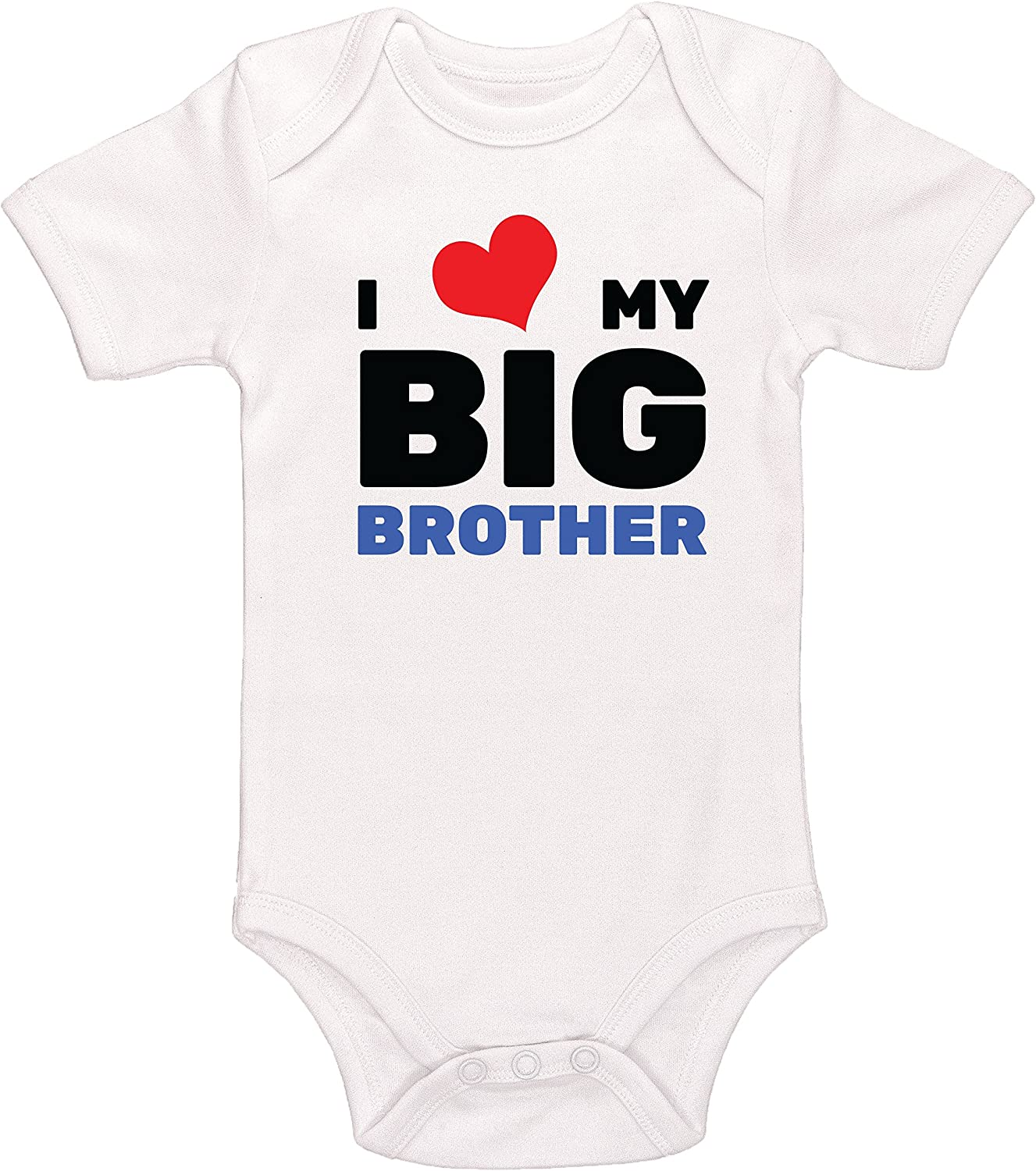 I Love My Brother This Much Beautiful Personalised Baby Vests Bodysuits Unisex