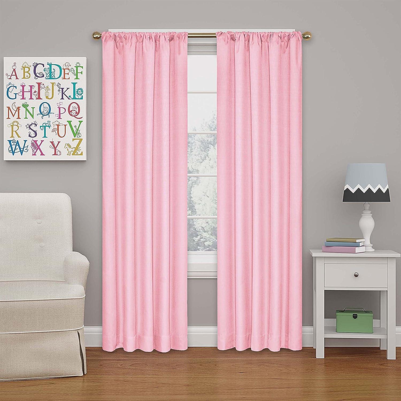 Eclipse Kendall Blackout Curtain, 63, Lemon 63 Ellery Homestyles 10707042X063LMN
