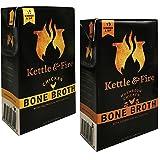 Kettle & Fire Chicken Bone Broth and Mushroom Chicken Bone Broth Pack of 2