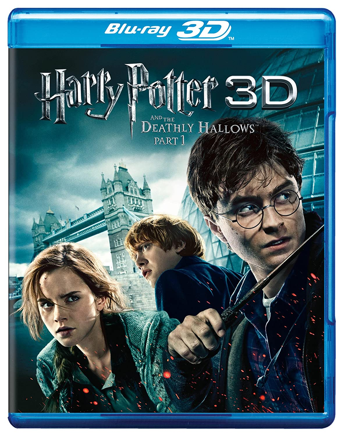 Harry Potter & The Deathly Hallows Part 1 Alemania Blu-ray: Amazon ...