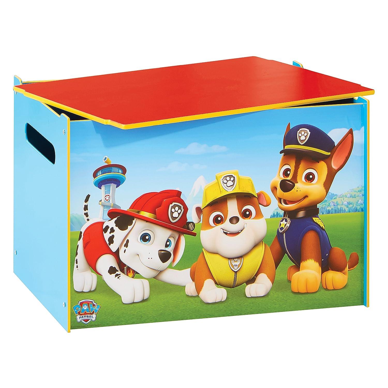 Paw Patrol Juguetero Infantil, Madera, Multicolor, 39.5x59 ...