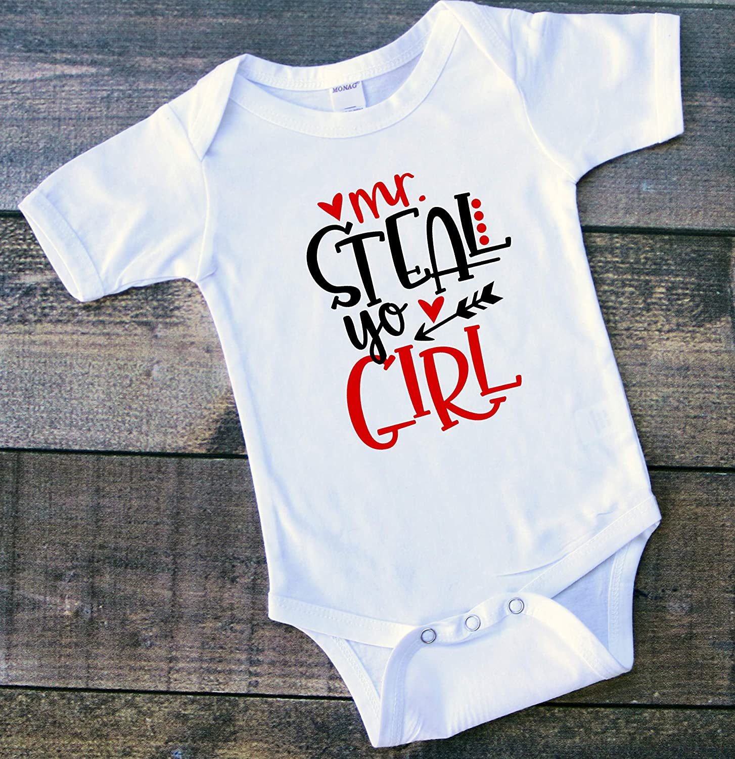 Valentine/'s Day Toddler Tee Infant Shirt Mr Steal Your Girl Toddler Tshirt Boys
