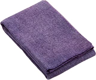 "product image for Weeks Dye Works Wool Fat Quarter Herringbone Fabric, 16"" by 26"", Iris"