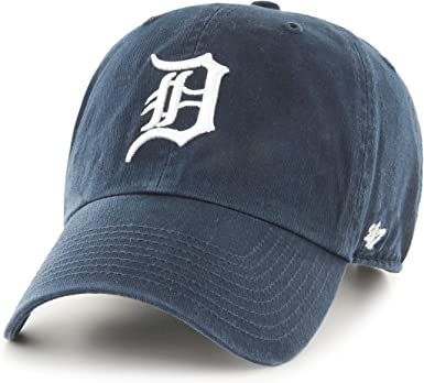 47 MLB Detroit Tigers Clean Up OSFA - Gorra Azul Marino: Amazon.es ...