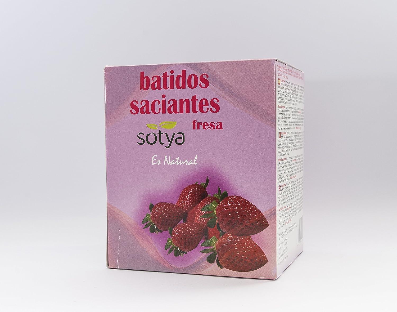 SOTYA Batido Fresa sobres monodosis 7x 30g: Amazon.es: Salud y ...