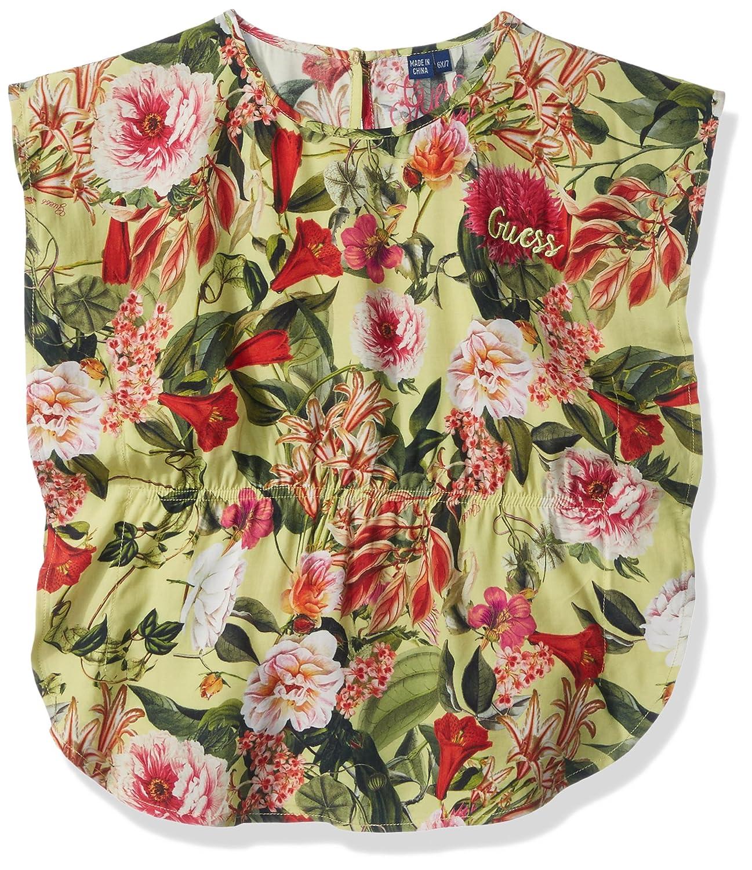 GUESS Girls Little Floral Woven Top