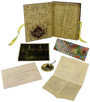 Noble Collection NN7430 – Harry Potter Caja con colección de réplicas de Harry Potter