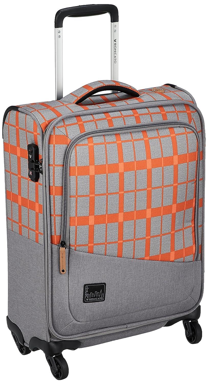 [ロンカート] スーツケース ADVENTURE 保証付 43L 55 cm 1.9kg B07CTLTXN6 オレンジチェック