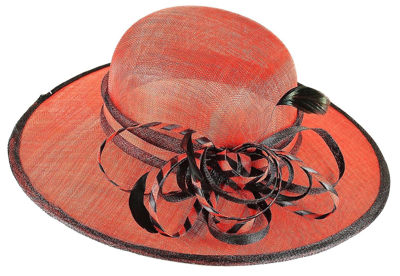Madame Dutilleul rosso - Cappello da sposa rosso Dutilleul nero Parent  8c1df8 b2aba2eda759