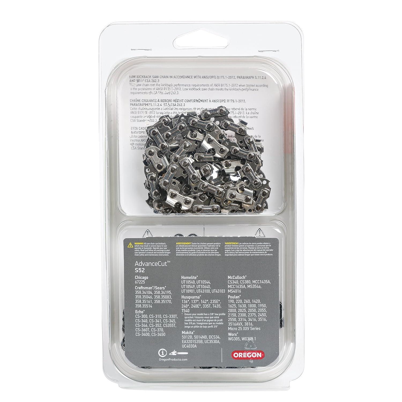 Amazon.com: Oregon Cutting Systems S52 cadena para sierra ...