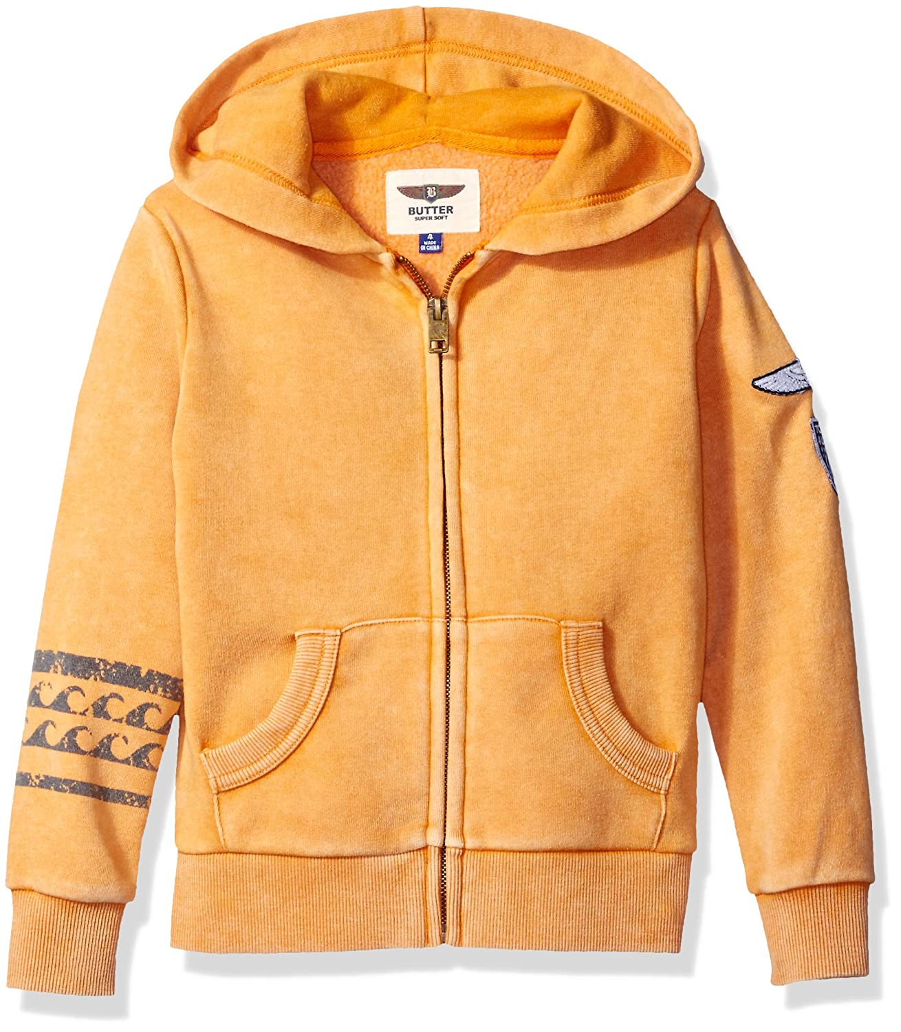 Butter Boys' Mineral Wash Hoodie