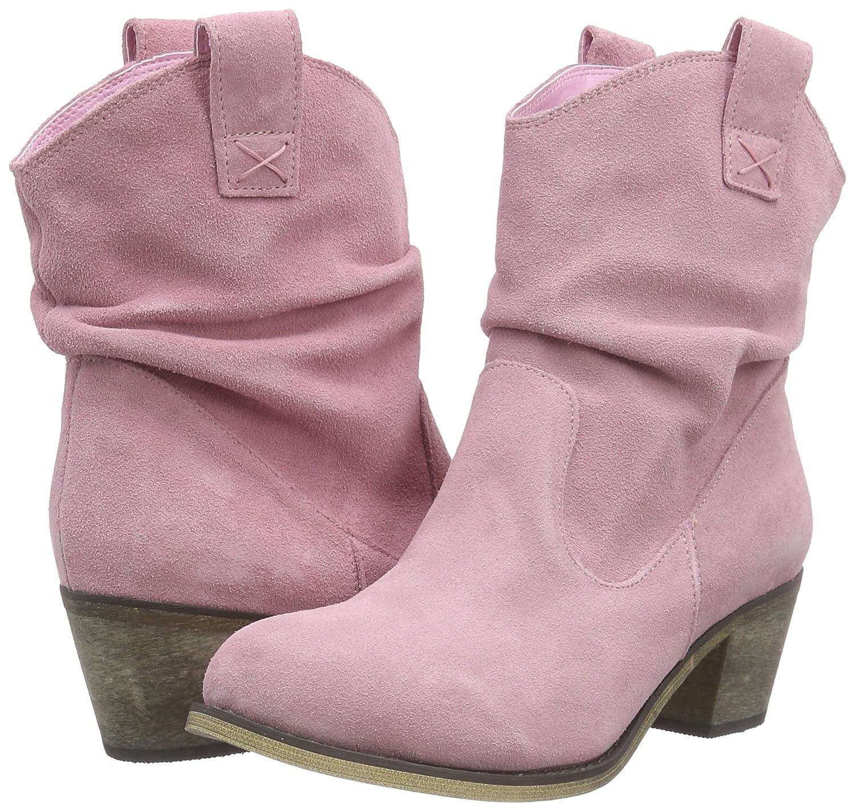 Andrea Conti1124167 - Botas y Botines Cowboy con Forro Mujer: Amazon.es: Zapatos y complementos