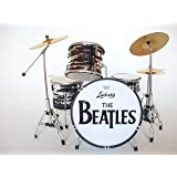 Music Legends Collection - Batterie Miniature Ludwig Black Oyster Ringo Starr Beatles