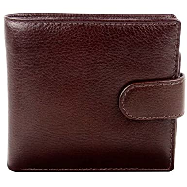 fbd04f0b52a777 Mala Leather Men's Brown Leather Wallet By Verve Gift Boxed Mala 12 Card  Slots Onesize Chestnut