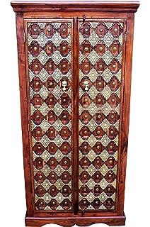 Marrakesch Kajal - Armario de Madera Maciza para Pasillo, Dormitorio, salón o baño,