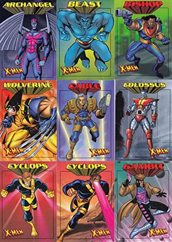 X MEN 99 CENTS 1997 FLEER COMPLETE BASE CARD SET OF 50 MARVEL At Amazons Entertainment Collectibles Store