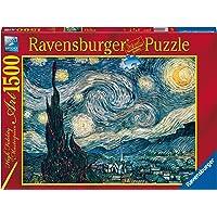 Ravensburger, Rompecabezas Van Gogh: Noche Estrellada, 1500 Piezas