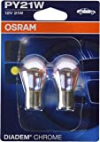 Osram DIADEM CHROME PY21W Halogène Lampe d´signal turn signal light 7507DC-02B 12V Blister Double 2 pièce