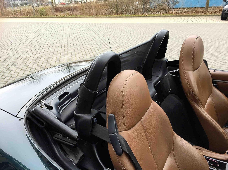 Aperta Windschott passend f/ür BMW Z3 E36 100/% Passgenau OEM Qualit/ät Schwarz Windstop Windabweiser
