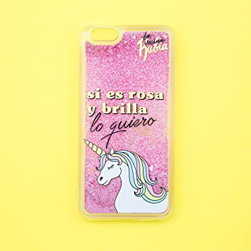 La Vecina Rubia Funda Smartphone - Transparente y Compatible con Apple iPhone 5 / 5S / SE