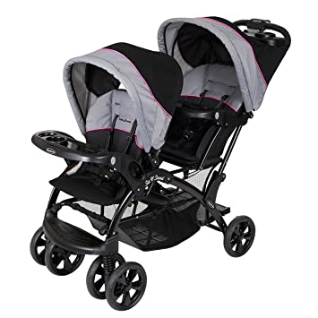Amazon.com: Baby Trend Double Sit N Stand - Silla de paseo ...