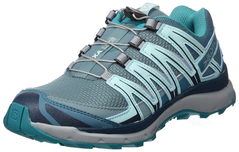 Salomon XA Lite, Calzado de Trail Running para Mujer 37 1/3 EU Azul (Trellis/Blue Reflecting Pond/Tropical Green)