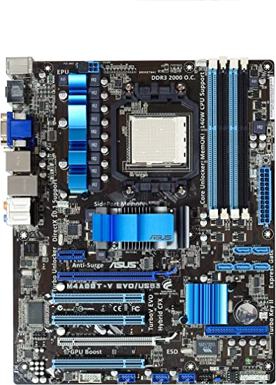 Amazon.com: ASUS AM3, AMD 880 G HDMI USB 3,0 ATX AMD placa ...