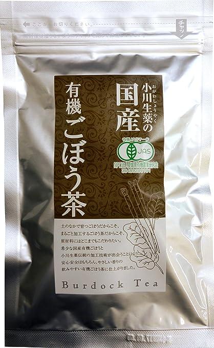 小川生薬 国産有機ごぼう茶 1.5gx12p×4袋