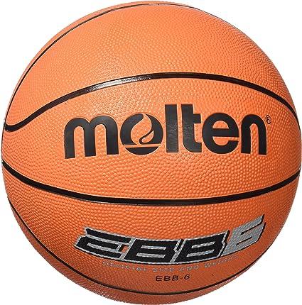 comment commander performance fiable double coupon Molten EBB6 Ballon de Basket-Ball Orange Taille 6