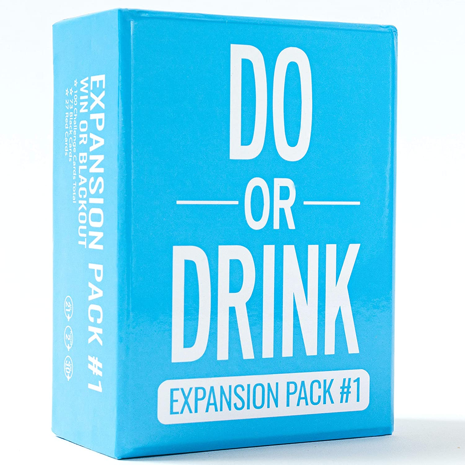 Amazon Com Do Or Drink Card Game Expansion Pack 1 Party Game Dares For College Camping And 21st Birthday Parties Toys Games
