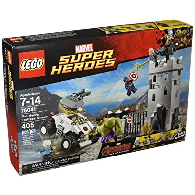 LEGO Marvel Super Heroes Avengers The Hydra Fortress Smash Set #76041: Toys & Games