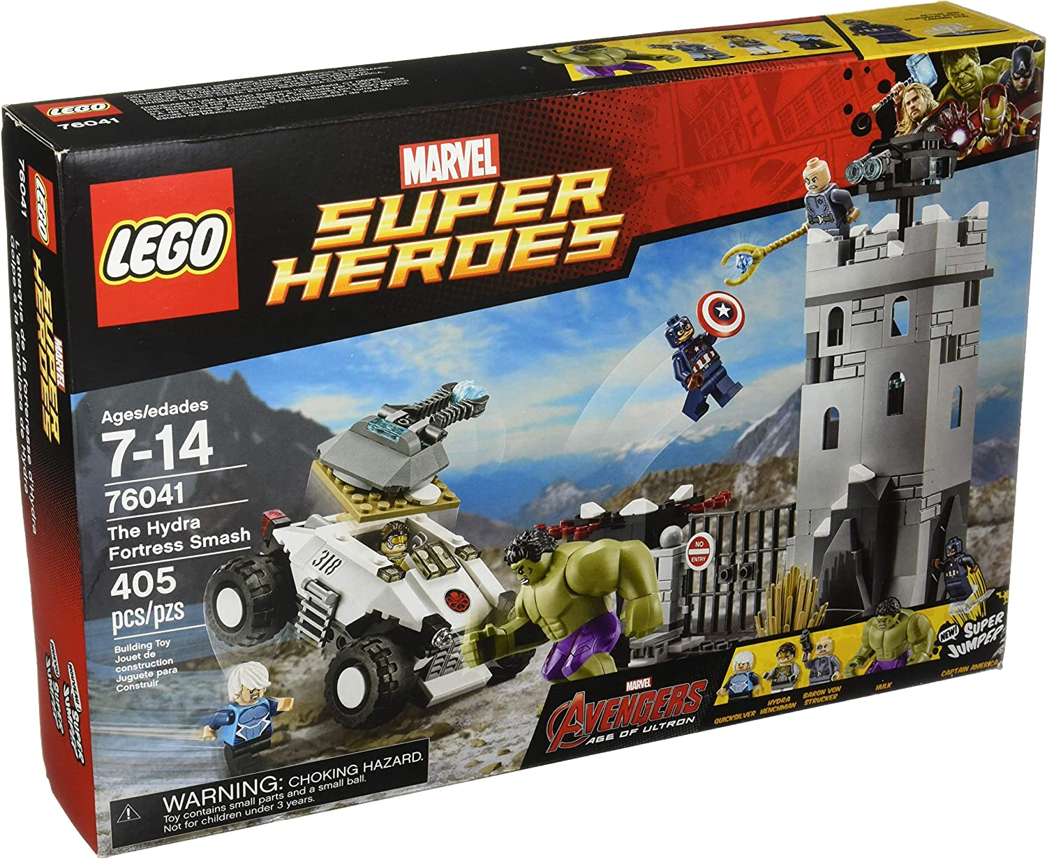 LEGO 76041 Choose Your Minifigure CAPTAIN AMERICA HULK QUICKSILVER Age of Ultron
