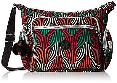 Kipling Gabbie, Sac Bandoulière - Multicolore (Tropic Palm CT_29J)