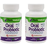 Daily Oral Probiotic Supplement w/BLIS K12 (60 Tablets) 4 Billion CFU Help Maintain Ear, Nose, and Throat Health - 30 Day Supply